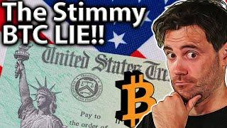 Stimulus Drives Bitcoin?? We Had it All WRONG!! ️