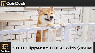 SHIB Flippened DOGE With $160M in 'Smart Money' Backing Latest Pump