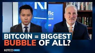 Peter Schiff: Bitcoin Still Going To 'collapse'; 'death Spiral' Of Inflation Coming (Pt. 1/2)