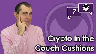Crypto in the Couch Cushions: Finding Bitcoin & other Cryptocurrencies [HIDDEN Goal at the End]