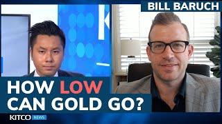 How low can the gold price drop? Fed has 'no excuse' to not taper after blowout jobs report
