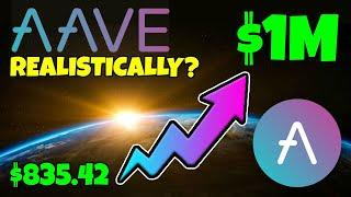 AAVE CRYPTO - COULD $835 MAKE YOU A MILLIONAIRE... REALISTICALLY???