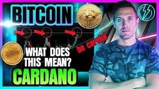 BITCOIN & CARDANO AT A FORK IN THE ROAD! (BTC & ADA Price Alert!)