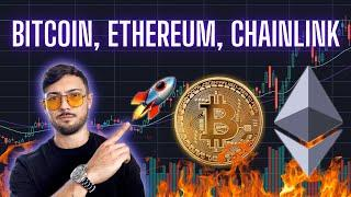 Bitcoin Tests Key Resistance, Ethereum's London Hardfork = BIG Deal, and ChainLink is Ripping!