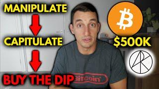 DON'T PANIC- BITCOIN & CRYPTO CRASH, (2nd) OPPORTUNITY OF A LIFETIME! | $500K BTC: ARK INVEST