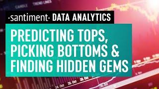 Using Data Analytics To Predict Market Behaviour - Santiment April 2021