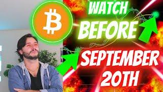 BITCOIN #1 MOST URGENT BULL SIGNAL IS ALMOST HERE!! [Remember What Happened Last Time??]