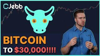 BITCOIN TO $30,000 IN 48 HOURS!!! - THIS CHART DEMANDS IT!!