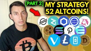 MY CRYPTO INVESTMENT STRATEGY FOR THE BITCOIN BULL MARKET: Planning & Altcoin Price Updates [Part 2]
