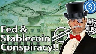 FED, USDC & Stellar: ULTIMATE Stablecoin Conspiracy!!