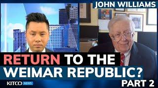 Hyperinflation threat is real; U.S. could become Weimar Republic – ShadowStats' John Williams