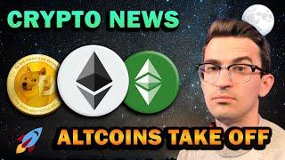 ALTCOINS SURGE!! This is Huge News