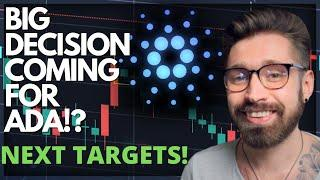 CARDANO PRICE PREDICTION 2021!!BIG DECISION COMING SOON FOR ADA?KEY LEVELS TO WATCH & TARGETS!