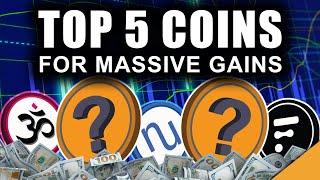 Top 5 Coins CRUSHING the Market NOW (MASSIVE Crypto GAINS)