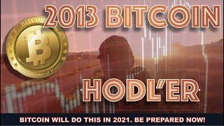 """EARLY BITCOIN HODL'er FROM 2013: """"MAJOR DIPS COMING AGAIN. IT DOESN'T MATTER IF YOU JUST DO THIS."""""""