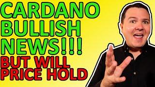 CARDANO PRICE EXPLODES ON BULLISH CARDANO NEWS EXPLAINED, ADA CRYPTO HUGE IN 2021
