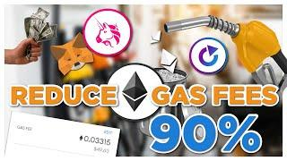 How to REDUCE Ethereum Gas Fees - ETH Transaction fee CASHBACK?!