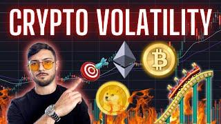 Crypto VOLATILITY! Bitcoin, Ethereum, ChainLink, EOS, XRP and DOGEcoin Price Targets + News