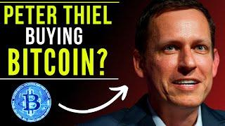 Peter Thiel BUYING BITCOIN?! WHO is the MYSTERY BITCOIN BUYER? Willy Woo BTC Price Prediction 2021