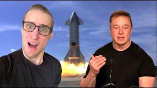 Over-Reacting To The SN10 Rocket Launch (NASA Parody)