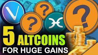 5 CHEAPEST Altcoins to Make You RICH (Under a Penny)