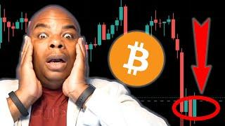 EMERGENCY!!!! BITCOIN DROPPING, BUT IS A BOUNCE IMMINENT???? [how to trade it now]