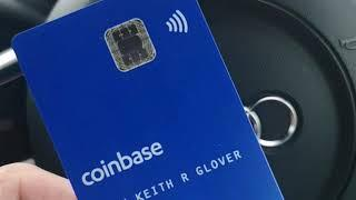 Using My Coinbase Visa Debit Card For The 1st Time