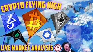 BITCOIN LIVE : BTC ALL TIME HIGHS ACHIEVED!