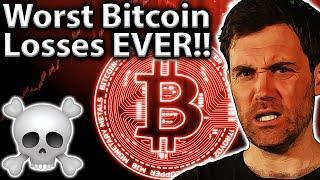 Biggest Bitcoin LOSSES & How To Recover Lost Crypto!!