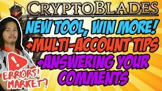 """Cryptoblades - """"Win More"""" + """"MAKE Multi Account LIFE Easier"""" + Q & A Feat. CBTracker"""