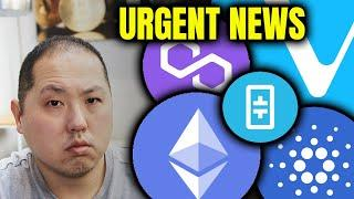 URGENT ALTCOIN NEWS YOU MAY HAVE MISSED!!!