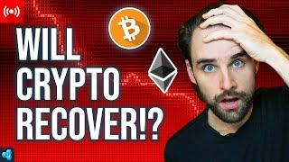 LIVE: Can Crypto Recover from this MAJOR dump!?