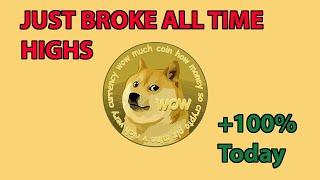 Dogecoin (DOGE) Just Broke ALL TIME Highs. This Is INSANE: Update