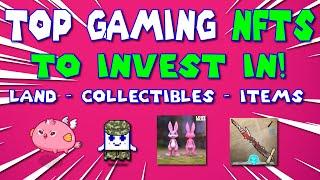 TOP 8 CRYPTO GAMES - GAMING NFTS! TOP NFT PICKS!