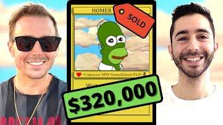 HE SOLD THIS NFT FOR $320,000! (Peter Kell Interview)