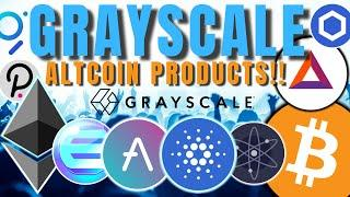 HUGE: Grayscale To Consider DOZENS of New Altcoin Digital Asset Investment Products!!!