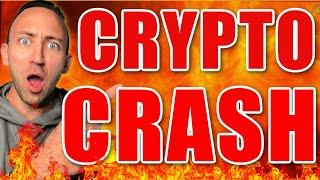 Crypto IS Crashing: HOW TO SURVIVE!
