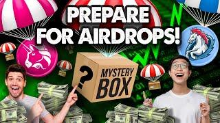 BIG ($$$) Airdrops for 2021!! Bigger than Uniswap & 1inch