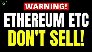 ETHEREUM HOLDERS WILL NEVER BELIEVE THIS!!! DON'T SELL Your ETH! (WATCH THIS FIRST)