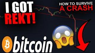 I GOT REKT! - BITCOIN FLASH CRASH EXPLAINED - IS THE BULL RUN OVER?
