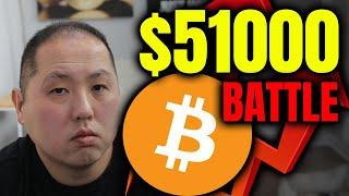BITCOIN'S BATTLE AT $51000 - WHY THE BEARS ARE GOING TO LOSE