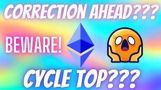 Ethereum ETH Breaking News - DUMP SOON??? MUST WATCH!!! Cycles Explained Price Predictions & TA!!!