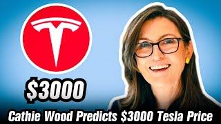 Cathie Wood: Tesla Is A $3000 Stock