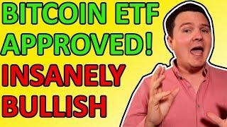 OMG!!! BITCOIN ETF APPROVED!!! INSANELY BULLISH LIVE CRYPTO NEWS IN 2021