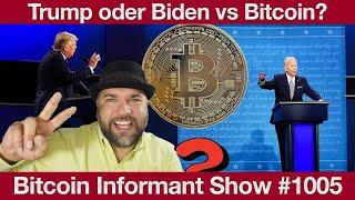 #1005 Bitcoin Erdbeben   Trump vs Biden, Attacke auf Tron & Paypal Crypto Globaler Start 2021