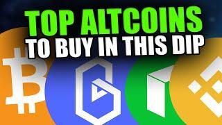 ALTCOIN BUYING OPPORTUNITY! - Watch These Altcoins NOW