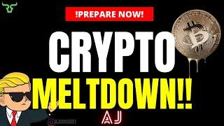 CRYPTO MELTDOWN!!! The Strangest Day In Crypto, Ever? But What Happened? (Watch In 24hrs)