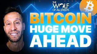 BITCOIN IS ABOUT TO MAKE A HUGE MOVE