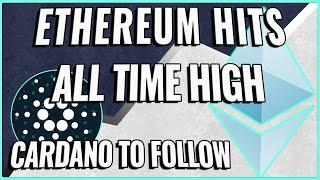 Ethereum Price Hits New ATH! + Cardano is Not Far Behind!!