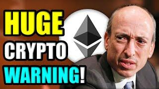 SEC CHAIR GARY GENSLER WARNS OF CRYPTO CRACKDOWN IN 2021   IS ETHEREUM IN TROUBLE?
